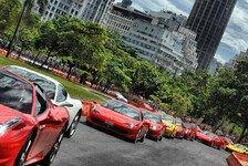 Formel 1 - Bilder: Massa-Showrun in Rio de Janeiro