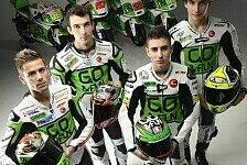 MotoGP - Dynamische Farben: Gresini Honda pr�sentiert sich in Mailand