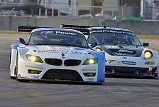 USCC - Neues Auto - kein Spaziergang: BMW in Sebring von den Pl�tzen acht und neun