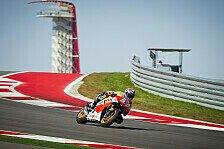 MotoGP - Marquez wieder Schnellster in Austin