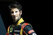 Formel 1 - Frohen Mutes nach Sepang: Romain Grosjean