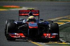 Formel 1 - McLaren: Rückstand beim Saisonstart