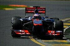 Formel 1 - McLaren mit vielen Hausaufgaben: Button: Punkte w�ren schon gut