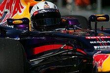 Formel 1 - 2. Training: Vettel gibt den Ton an