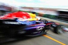 Formel 1 - Red Bull spielt Bestzeiten herunter