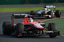 Formel 1 - Marussia siegt im Duell der Nachzügler