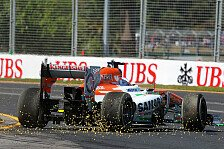 Formel 1 - Regen am Samstag?: Balanceprobleme bei Di Resta