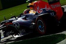Formel 1 - Konkurrenz von Red-Bull-Pace nicht überrascht