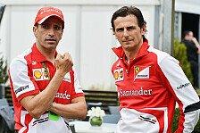 Formel 1 - Gene, de la Rosa, Rigon: Ferrari benennt drei Testfahrer
