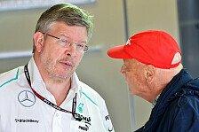 Formel 1 - Ross w�rde Teamchef bleiben: Lauda: Brawn-Entscheidung nicht vor Brasilien