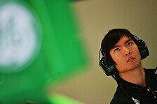 Formel 1 - Heimspiel mit Caterham: Ma Qing Hua am Freitag im Einsatz
