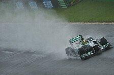 Formel 1 - Qualifying-Abbruch zum Leidwesen von Rosberg