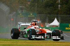 Formel 1 - Keine Prognosen f�r das Rennen: Di Resta holte das Maximum heraus
