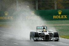 Formel 1 - D�j�-vu im Albert Park: Wetterprognose: Verregnetes Qualifying?