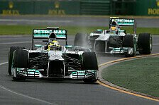 Formel 1 - Ungeplanter 'Plan B' : Mercedes-Analyse: In Melbourne war mehr drin