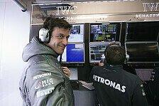 Formel 1 - Umbauphase noch nicht abgeschlossen: Wolff bereut Teamorder nicht