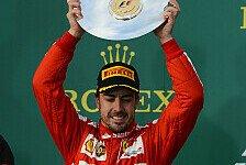 Formel 1 - Nachz�gler haben Nerven gekostet: Alonso: Vor Red Bull? Eine �berraschung!