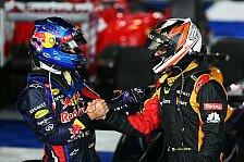 Formel 1 - Es gibt keine Freunde in der F1: Vettel/R�ikk�nen: Wirklich so gute Freunde?