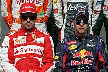 Formel 1 - Die Dominanz hat sich in Luft aufgel�st: Villeneuve: Vettel nicht auf Alonso-Niveau