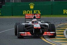 Formel 1 - Barcelona ist die Deadline: Coulthard schreibt McLaren noch nicht ab