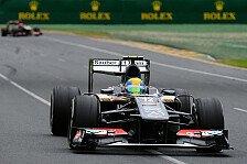 Formel 1 - Keine gro�en Probleme: Sauber von R�ckstand �berrascht