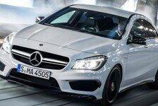 Auto - Erste Bilder des Mercedes CLA 45 AMG