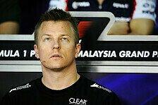 Formel 1 - Sofort bei der Pace: So tickt Kimi R�ikk�nen - Teil II