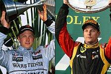 Formel 1 - Bin ein gro�er Fan von Kimi: Whitmarsh: R�ikk�nen will von Lotus weg