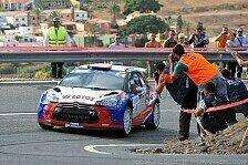 Mehr Rallyes - Zu sp�t gebremst: Kubica: Ausfall nach Unfall
