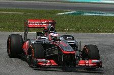 Formel 1 - Vom Potenzial des Autos �berzeugt: McLaren sucht nach Antworten
