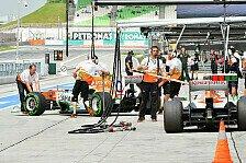 Formel 1 - Radmutter sorgt f�r Debakel: Di Resta trauert Punktechance nach