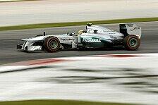 Formel 1 - Trocken w�re besser gewesen: Hamilton: Lobende Worte f�r die Top-3