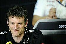 Formel 1 - R�ckschlag im Titelkampf : Lotus: Allison vor dem Absprung?