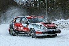 DRM - Kampf mit Schnee und Eis: Wikinger Rallye: Wallenwein vorne