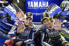 MotoGP - Yamaha beschw�rt eine neue Einigkeit: Rossi und Lorenzo: Alles besser in der 2. �ra?