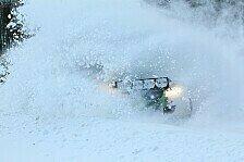DRM - Unterbrechung bis zur WP 9 : Der Schnee beherrscht die Wikinger-Rallye