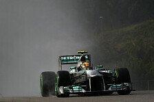Formel 1 - Abtrocknung setzte nicht ein: Hamilton: Mit den Intermediates verpokert