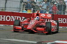 IndyCar - P1 zum 250. Rennen: Franchitti in Long Beach auf Pole Position