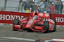 IndyCar - P1 zum 250. Rennen: Franchitti in Long Beach auf Pole Position