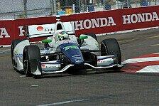IndyCar - 1,4 Sekunden unter Rundenrekord: De Silvestro f�hrt Bestzeit im letzten Training