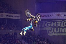 NIGHT of the JUMPs - Schritt f�r Schritt verbessern: David Rinaldo