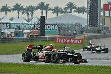 Formel 1 - Mehr Input - mehr Output: Grosjean: Lotus braucht f�r den Titel Geld