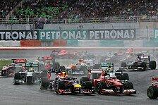 Formel 1 - Mercedes erneut alleine auf weiter Flur?: Vorschau: Malaysia GP