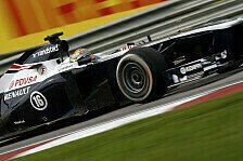 Formel 1 - Gro�e Updates erst in Barcelona: Williams Vorschau: China GP