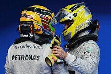 Formel 1 - Lob f�r professionellen Rosberg: Lauda: Auch Mercedes entsagt der Stallorder