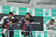 Formel 1 - Steinerne Mienen am Podium: Malaysia GP: 10 Antworten zum Rennen