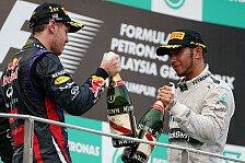 Formel 1 - Kopf-an-Kopf-Rennen: Ist Hamilton Vettels gr��te Gefahr?