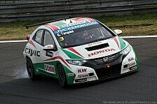 WTCC - Drei Honda Civic an der Spitze: Tarquini holt Pole auf dem Slovakiaring