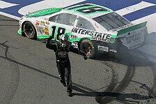 NASCAR - Hamlin und Logano landen in der Mauer: Verr�ckter Sieg f�r Kyle Busch