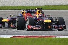 Formel 1 - Red Bull erschafft Duell selbst: Strategiebericht Malaysia GP